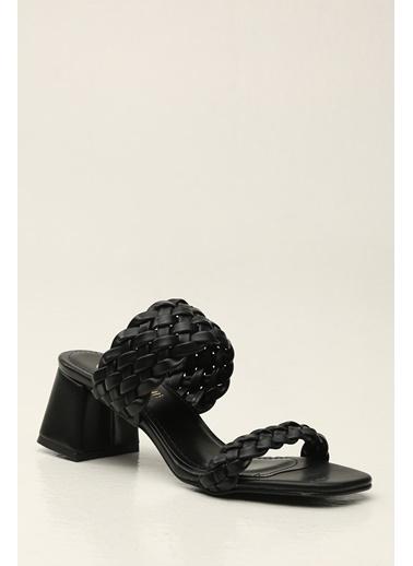 Violetta Shoes Terlik Siyah